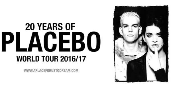 Placebo – Nottingham Motorpoint Arena, 6th December 2016