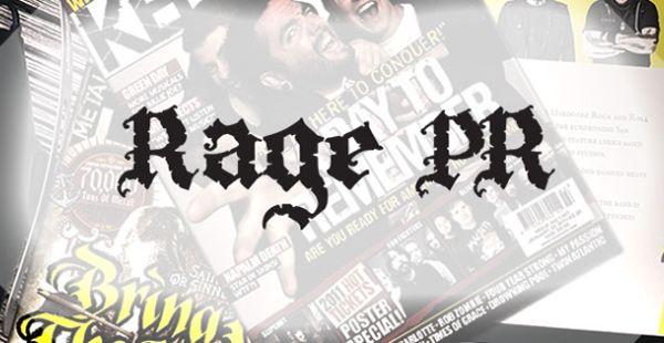 Rage PR release compilation album in aid of Team Rock 73