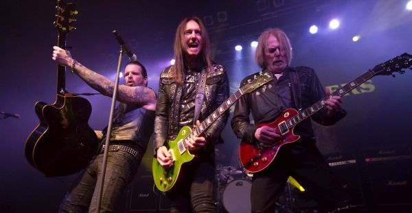 Black Star Riders / Gun / Backyard Babies – O2 ABC, Glasgow (9th March 2017)