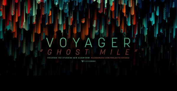 """Voyager reveal artwork and track listing for """"Ghost Mile"""" and playthrough video of """"Ascension"""""""