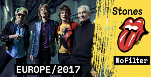 "Rolling Stones announce ""No Filter"" European dates"