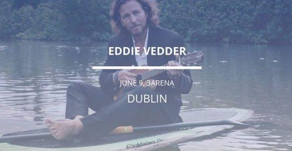 Eddie Vedder – 3Arena Dublin