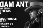 Adam Ant announces support for final 2017 UK date