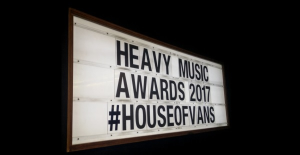 Heavy Music Awards 2017 – House of Vans, London (24th August 2017)