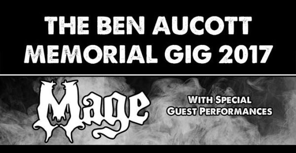 Second Ben Aucott (Mage) Memorial Gig on November 25th
