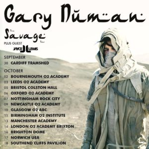 Gary Numan / Jayce Lewis – The Dome, Brighton (16th October 2017)