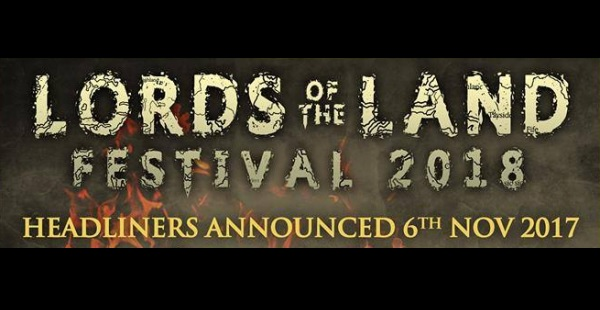 Lords of the Land 2018 announces first bands