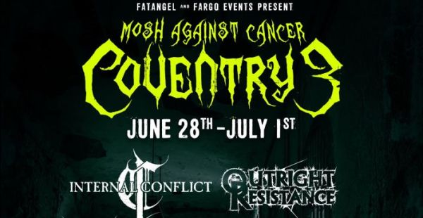 Mosh Against Cancer Coventry 2018 announces 17 acts