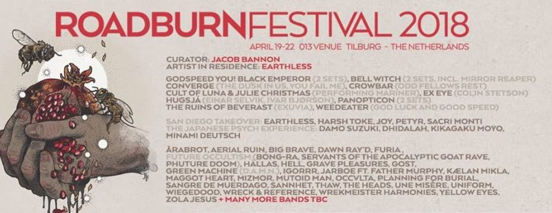Roadburn 2018 adds more bands to the lineup