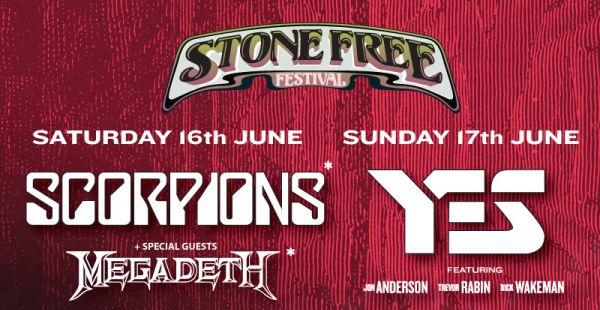 Stone Free Festival 2018 announces headliners and venue details