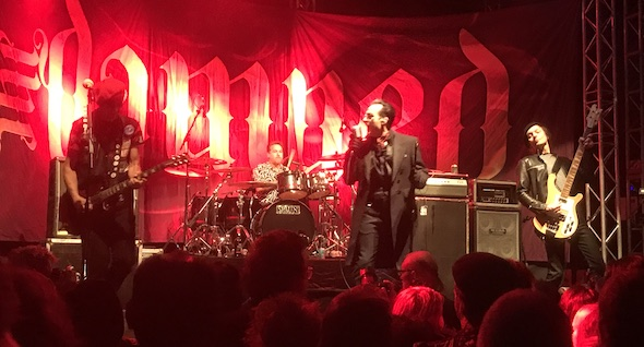 Gig Review: The Damned – O2 Academy, Leeds (30th January 2018)