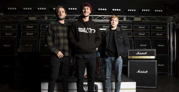 Press To MECO sign to Marshall Records and reveal album details