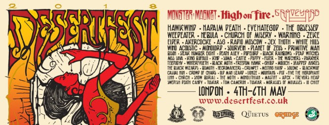 Desertfest London release full line-up