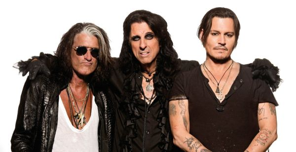 Hollywood Vampires (Cooper, Perry, Depp) coming to the UK – Darkness and Damned in tow!