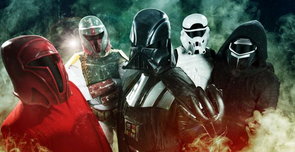Galactic Empire announce new album and of course it's coming out on May 4th