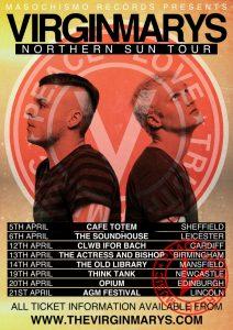 The Virginmarys Northern Sun tour diary – Part 1