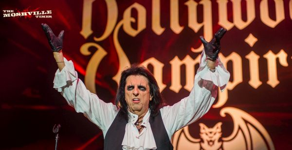 Gig Review: The Hollywood Vampires / The Darkness / The Damned – SSE Hydro, Glasgow (19th June 2018)