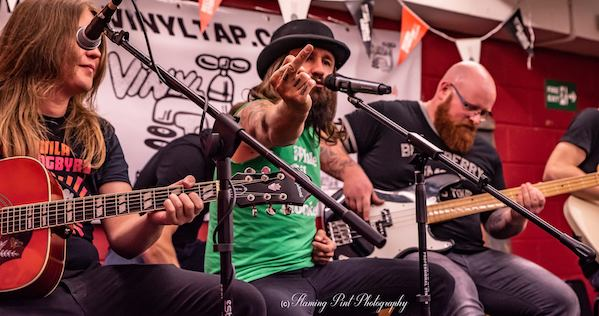 Gig Review: Massive Wagons Acoustic In-Store – Vinyl Tap, Huddersfield (9th August 2018)
