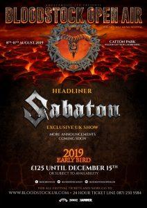 Bloodstock 2019 – Sabaton headlining Friday