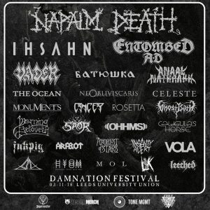 We'll Be There: Damnation Festival 2018
