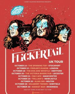 Tour News: All Them Witches / Flickertail / Tenements / Graham Parker & The Goldtops