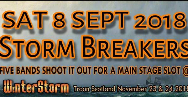 Gig Review: StormBreakers 2018 – Dreadnought Rock, Bathgate (8th September 2018)