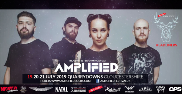 Amplified 2019 announce Jinjer as Friday main stage headliner and 8 more bands