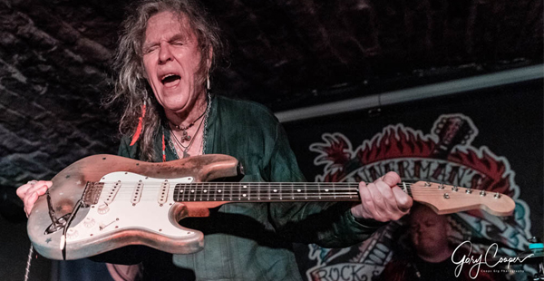 Gig Review: Bernie Tormé / Katalina Kicks – Bannermans, Edinburgh (25th November 2018)