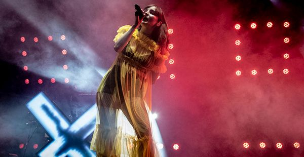 Gig Review: CHVRCHES / Let's Eat Grandma – Alexandra Palace, London (7th February 2019)