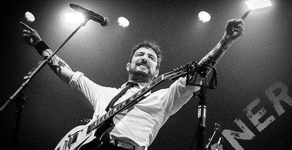 Gig Review: Frank Turner and the Sleeping Souls / Jimmy Eat World / Grace Petrie – Victoria Warehouse, Manchester (25th January 2019)