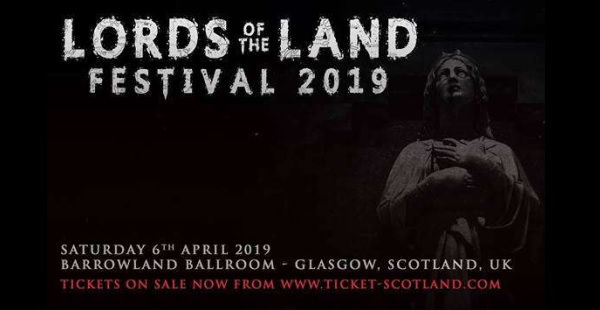 Gig Review: Lords of the Land at SWG3, Glasgow (6th April 2019)