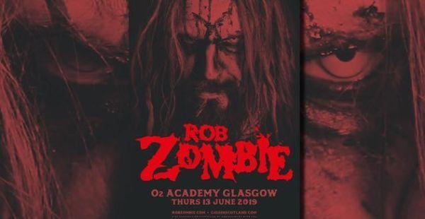 Gig Review: Rob Zombie – O2 Academy, Glasgow (13th June 2019)