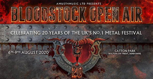 Bloodstock 2020 – more quality acts and gaming arena added!