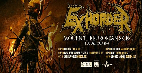 Gig Review: Exhorder / Hoods / Kingpin – Audio, Glasgow (9th October 2019)