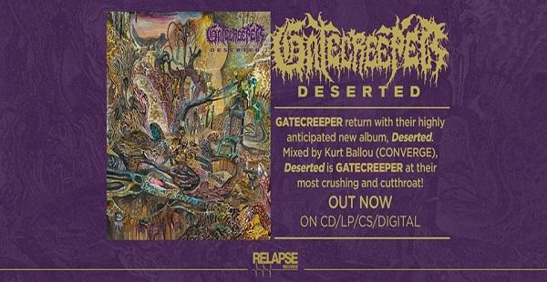 Album review: Gatecreeper – Deserted