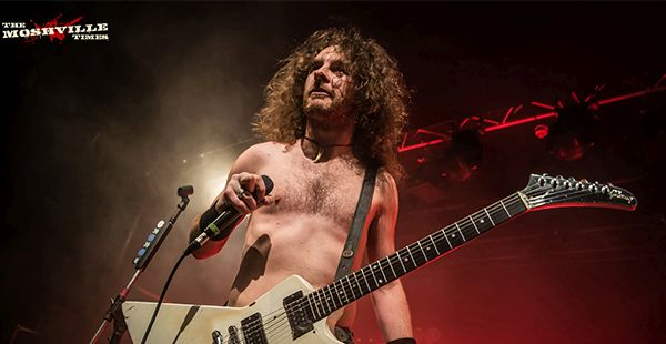 Gig Review: Airbourne / Tyler Bryant & the Shakedown / Cellar Door Moon Crow – Barrowland Ballroom, Glasgow (21st November 2019)