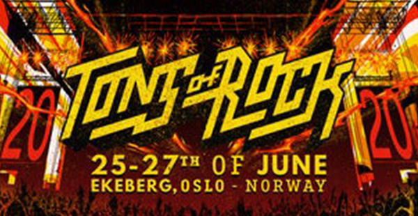 Tons of Rock (NO) announces finalised line-up