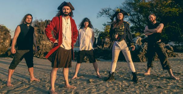 "Alestorm: new album out today, celebrate with ""Pirate Metal Drinking Crew"" video"