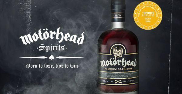 Motörhead Rum is now officially award-winning!