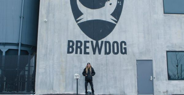 "BrewDog / Lamb of God release alcohol-free ""Ghost Walker"" beer and video"