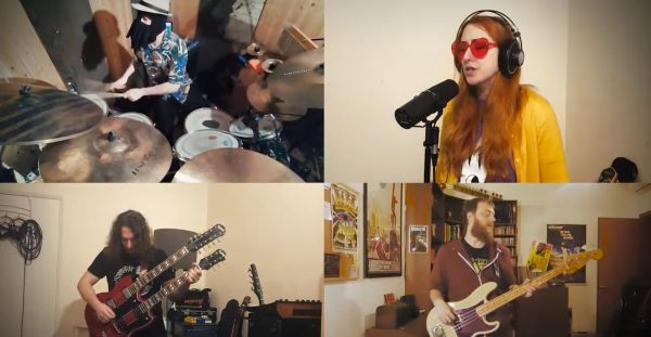 "Members of several bands record lockdown cover of Rush's ""Xanadu"""