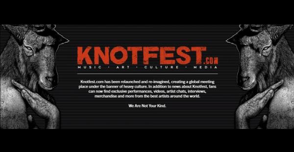 Knotfest launches new global content destination