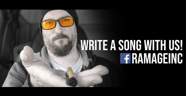 Help write a charity rock song with Ramage Inc!