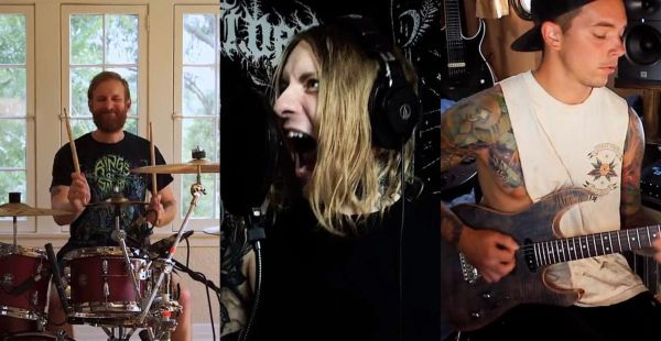 Enterprise Earth release quarantine-filmed video for Lamb Of God cover