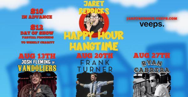 Frank Turner & Bowling For Soup frontman Jaret Reddick team up
