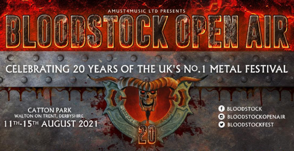 Today's big postponement: Bloodstock 2020 – details on what to do with your tickets and GREAT news for 2021!