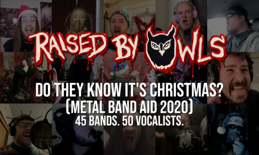 """Advent 2020 Day 20: Raised By Owls (and friends) – """"Do They Know It's Christmas?"""""""