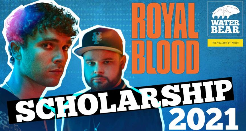 Royal Blood announce 2021 scholarship with WaterBear – The College of Music
