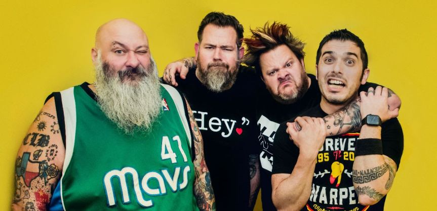 """Old farts (and one young fart) Bowling For Soup release new single / video: """"Getting Old Sucks (But Everybody's Doing It)"""""""