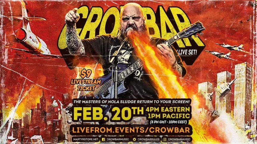 Livestream Review: Crowbar (20th February, 2021)